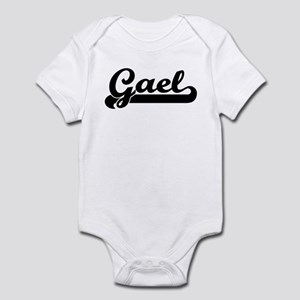Black jersey: Gael Infant Bodysuit