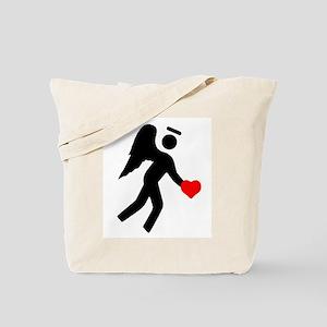 Angel Over My Shoulder Tote Bag