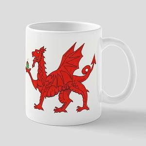 Welsh Dragon Birthday Mug