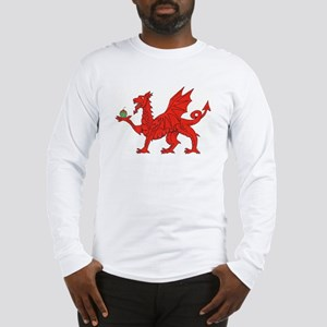 Welsh Dragon Birthday Long Sleeve T-Shirt