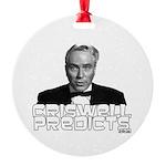 Criswell Predicts Round Ornament
