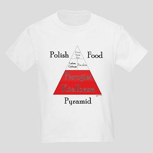 Polish Food Pyramid Kids Light T-Shirt