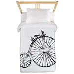 Faded Vintage 1900s Bicycle Twin Duvet