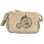 Faded Vintage 1900s Bicycle Messenger Bag