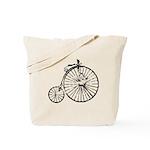 Faded Vintage 1900s Bicycle Tote Bag
