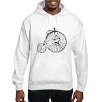 Faded Vintage 1900s Bicycle Hooded Sweatshirt