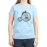 Faded Vintage 1900s Bicycle Women's Light T-Shirt