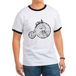 Faded Vintage 1900s Bicycle Ringer T