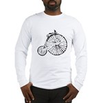 Faded Vintage 1900s Bicycle Long Sleeve T-Shirt