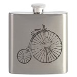 Faded Vintage 1900s Bicycle Flask