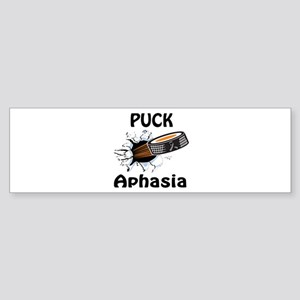 Puck Aphasia Sticker (Bumper)