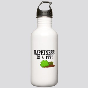 Happiness is A FTF Stainless Water Bottle 1.0L