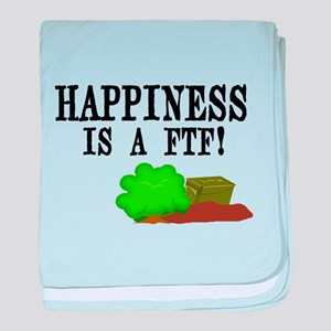 Happiness is A FTF baby blanket