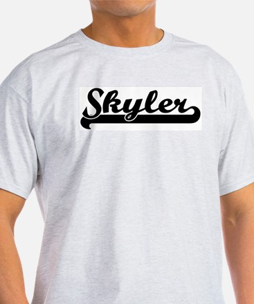 Black jersey: Skyler Ash Grey T-Shirt