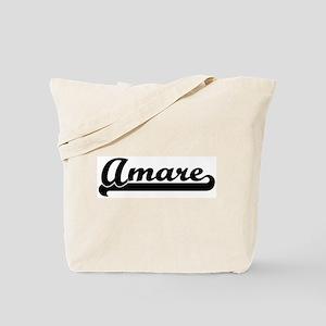 Black jersey: Amare Tote Bag