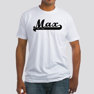 Black jersey: Max Fitted T-Shirt