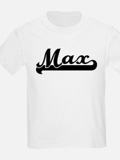 Black jersey: Max Kids T-Shirt