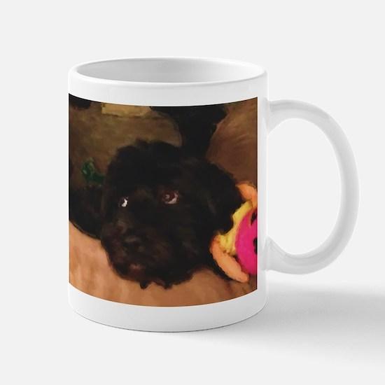Would this face lie? Mug