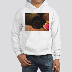 Would this face lie? Hooded Sweatshirt