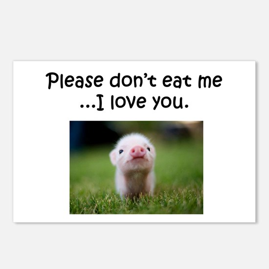 Dont Eat Me Postcards (Package of 8)