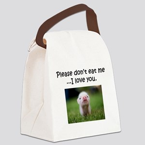 Dont Eat Me Canvas Lunch Bag