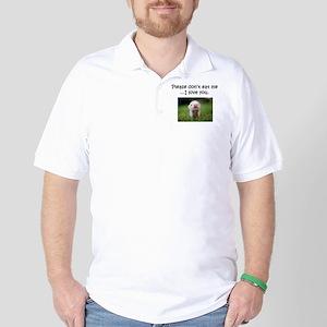 Dont Eat Me Golf Shirt