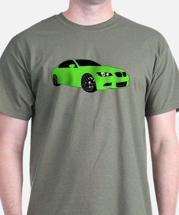 BMW E92 M3 M SPORT Lime Green Special Edition T-Shirt