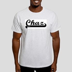 Black jersey: Chaz Ash Grey T-Shirt