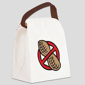 No Peanuts! Canvas Lunch Bag