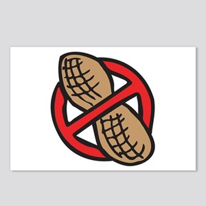 No Peanuts! Postcards (Package of 8)