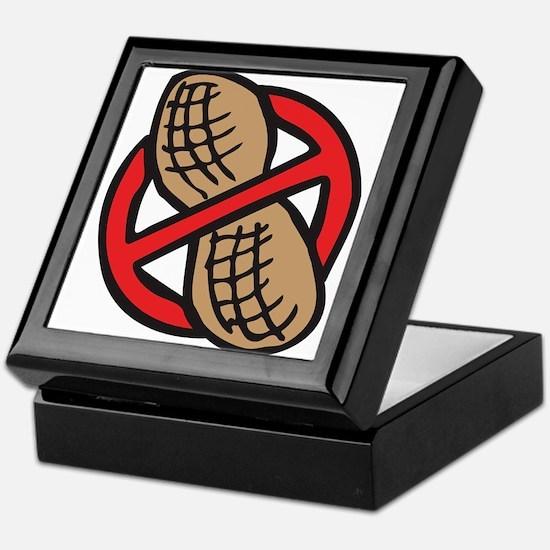 No Peanuts! Keepsake Box