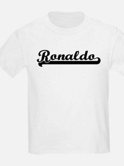 Black jersey: Ronaldo Kids T-Shirt