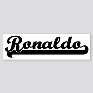 Black jersey: Ronaldo Bumper Sticker
