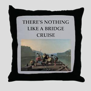 BRIDGE2 Throw Pillow
