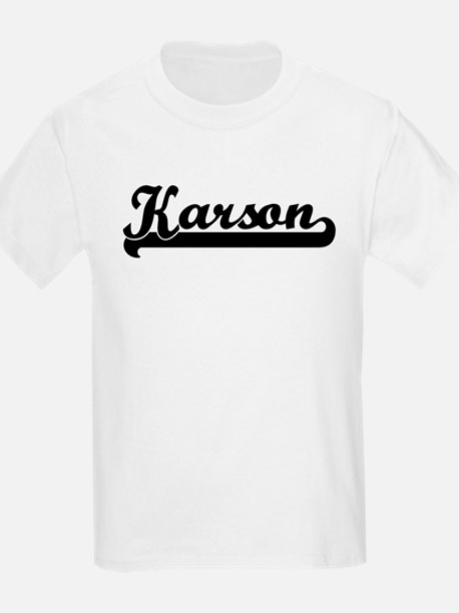 Black jersey: Karson Kids T-Shirt