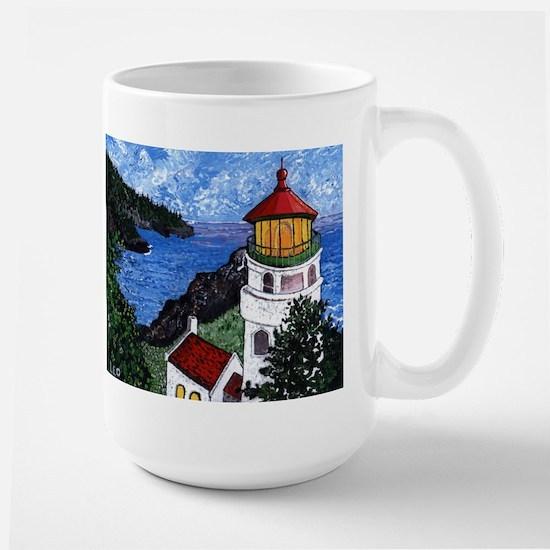 Heceta Head Lighthouse, Oregon Large Mug