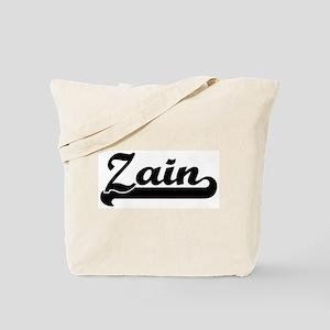 Black jersey: Zain Tote Bag
