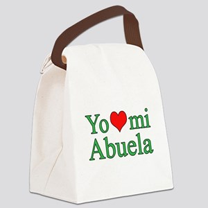I love my grandma (Spanish) Canvas Lunch Bag