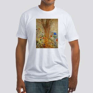 Odilon Redon Buddha In His Youth Fitted T-Shirt