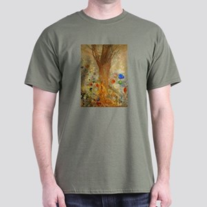 Odilon Redon Buddha In His Youth Dark T-Shirt