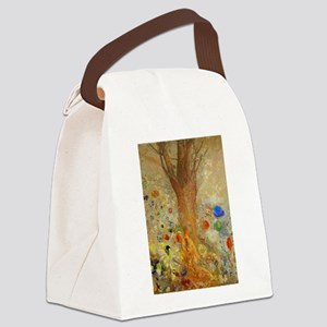 Odilon Redon Buddha In His Youth Canvas Lunch Bag