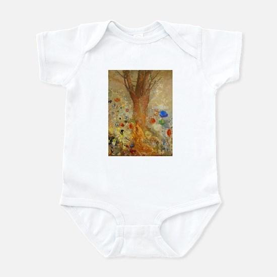 Odilon Redon Buddha In His Youth Infant Bodysuit