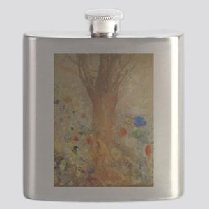 Odilon Redon Buddha In His Youth Flask