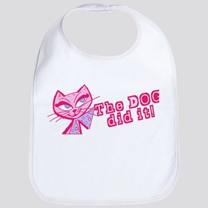 """""""The Dog Did It"""" Kitty Cat Bib"""