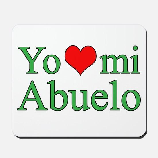 I love grandpa (Spanish) Mousepad