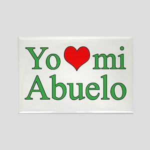 I love grandpa (Spanish) Rectangle Magnet