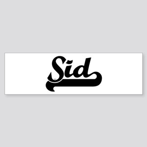 Black jersey: Sid Bumper Sticker