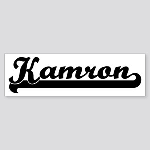 Black jersey: Kamron Bumper Sticker