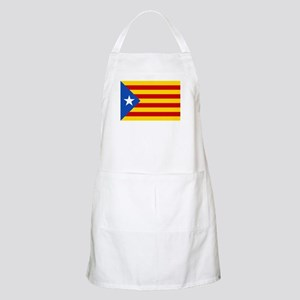 LEstelada Blava Catalan Independence Flag Apron