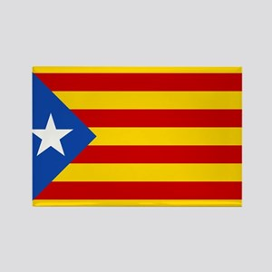 LEstelada Blava Catalan Independence Flag Rectangl